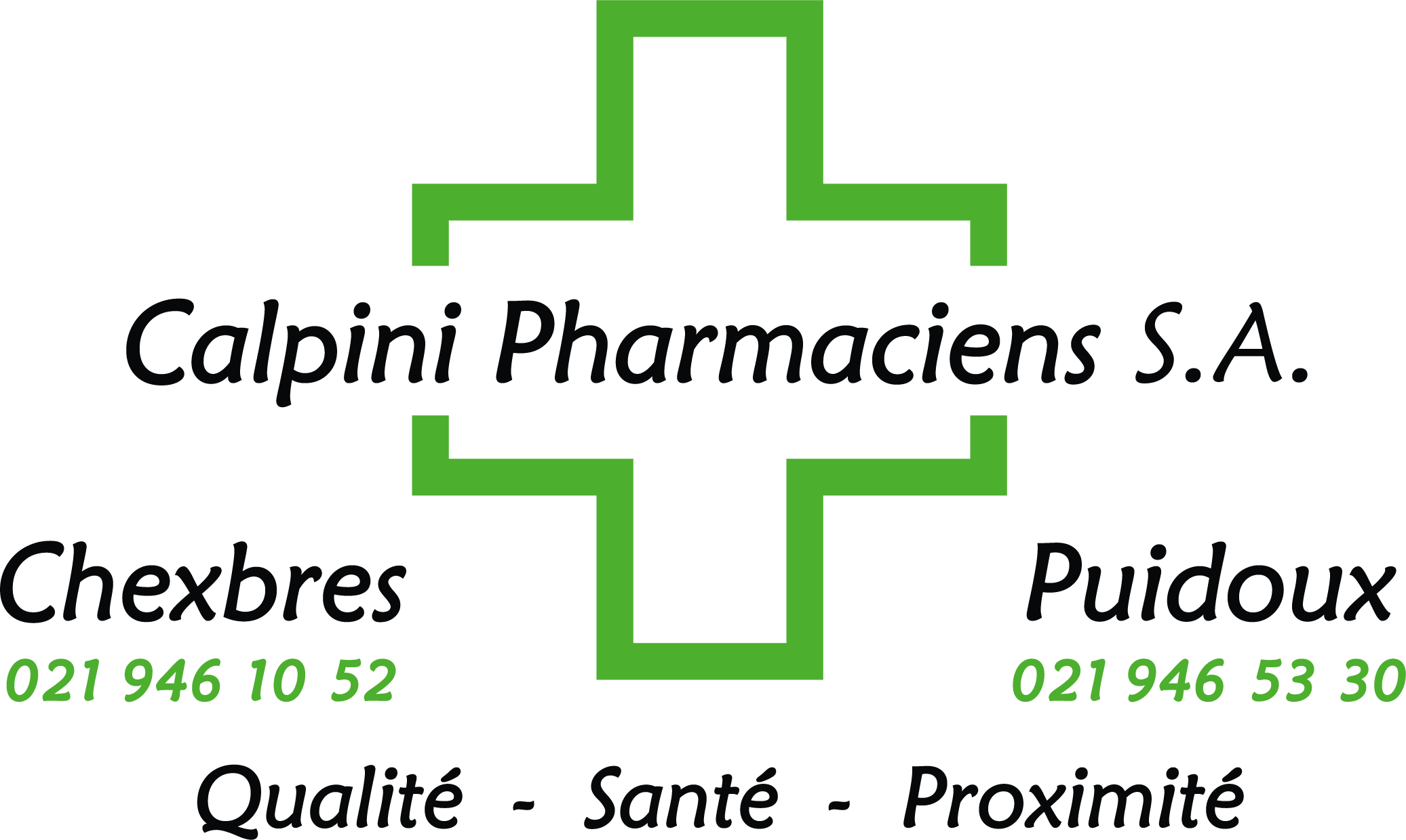 Pharmacies Calpini